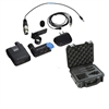 Sennheiser AVX Camera-Mountable Lavalier Digital Wireless Set (ME2 Lavalier) Bundle with SKB Waterproof Case and BA20 Recharging Battery Pack