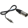 Sennheiser CL100 XLR unbalnced to 1/8 male XLR