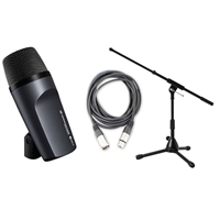 Sennheiser E602-II Bass / Kick Drum Mic w/Short Mic Stand and Mic Cable
