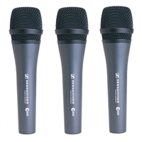 Sennheiser E835 Dynamic Vocal Microphone (3-Pack)