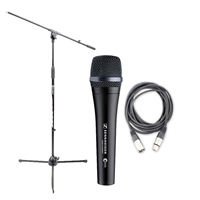 Sennheiser E935 Cardioid Dynamic Handheld Mic with and AxcessAbles XLR-XLR20 Audio Cable