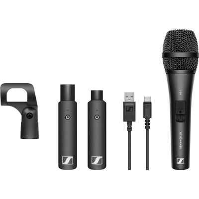 Sennheiser XSW-D VOCAL SET Digital Wireless Plug-On Microphone System with Handheld Mic (2.4 GHz)