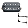 Seymour Duncan 11102-13-B SH-4 JB Model Black with 2 Patch Cables