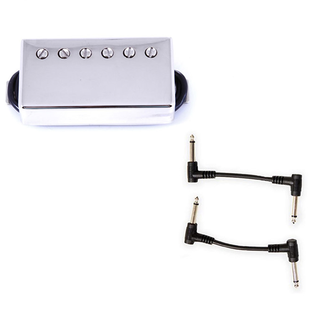Seymour Duncan 11102-49-NC Pearly Gates Humbucker Pickup - Nickel Bridge  with 2 Patch Cables