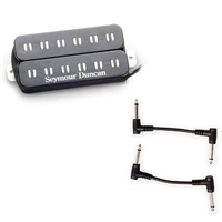 Seymour Duncan 11102-73 PA-TB1B Original Parallel Axis Humbucker with 2 Patch Cables