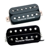 Seymour Duncan 11103-13-B TB-4 JB Trembucker Pickup - Black with SH-2 Jazz Model Humbucker Pickup - Black Neck