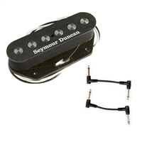 Seymour Duncan 11202-14 STL-3 Quarter Pound Tele Pickup - Lead with 2 Patch Cables