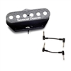 Seymour Duncan 11202-14-T STL-3 Quarter Pound Tele Tap Pickup - Lead with 2 Patch Cables