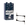 Seymour Duncan 11900-006 Vise Grip Studio Grade Guitar Compressor Pedal with 2 Patch Cables