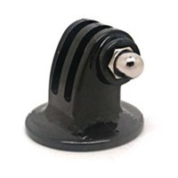 Black Tripod Mount Adapter for GoPro Hero