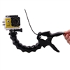 GoPro Hero Compatible Jaws Flex Clamp Mount + 8-joint Adjustable Neck