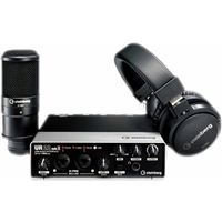 Steinberg UR22 MKII RP Recording Pack with Interface, Cubase, Headphones & Microphone