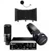 Steinberg UR22 MKII RP Recording Pack interface with Cubase, Headphones, Microphone and Microphone Isolation Shield