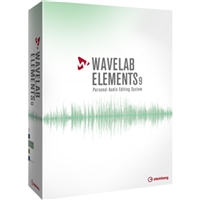 Steinberg 46132 WaveLab Elements 9 - Audio Editing and Processing Software (Educational)