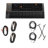 StudioLogic SLEDGE-2-BLACK Synth w/ Instrument Cables & X Keyboard Stand