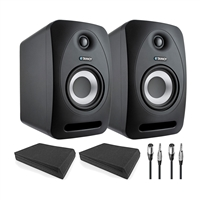 Tannoy Reveal 802 Speakers W/ AxcessAbles Isolation Pads (Pair) and Cables