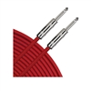 Tascam TC-04R Instrument Cable Red 4 ft.