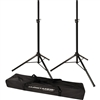 Ultimate Support JS-TS50-2  Pair of Tripod Speaker Stands with Free Carrying Bag