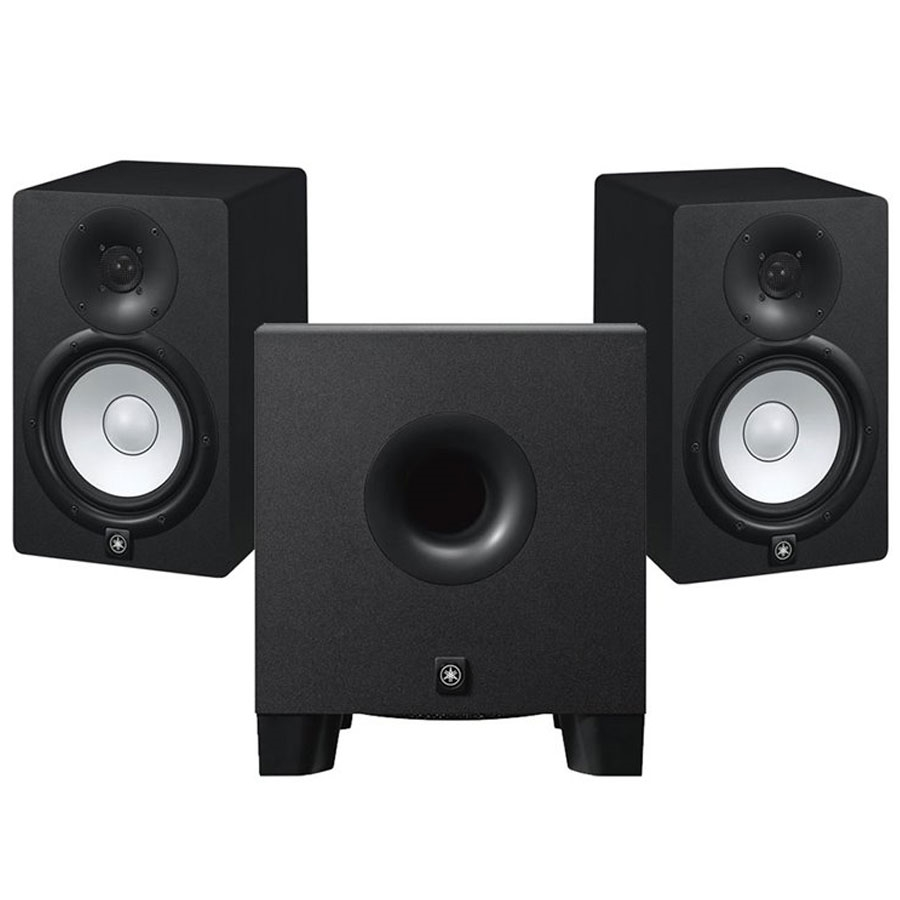 Yamaha Hs7 Studio Monitors Pair W Hs8s Subwoofer Las Veggas Hs5 Powered Monitor With
