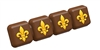 Fleur de Lis Break-Away Chocolate Mold