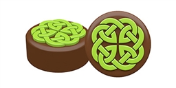 Celtic Kells Knot Oreo Cookie Chocolate Mold