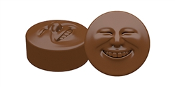 Happy Face Oreo Cookie Chocolate Mold