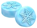 Winter Snowflakes Oreo Cookie Chocolate Mold