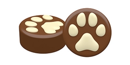 Cat & Dog Paw Oreo Cookie Chocolate Mold