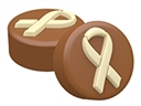 Awareness Ribbon Oreo Cookie Chocolate Mold