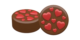 Lots of Love Oreo Cookie Chocolate Mold
