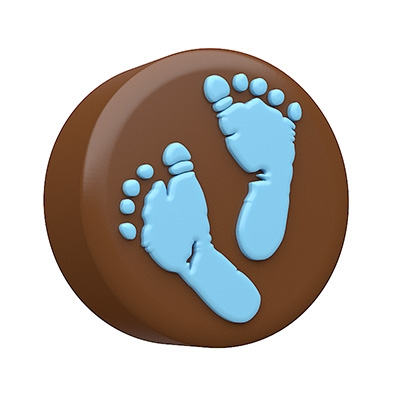 Spinningleaf Baby Feet Sandwich Cookie Molds Chocolate Covered