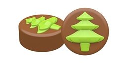 Tree Oreo Cookie Chocolate Mold