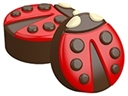 Ladybug Oreo Cookie Chocolate Mold