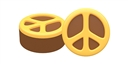 Peace Cookie Mold