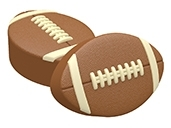 Football Oreo Cookie Chocolate Mold