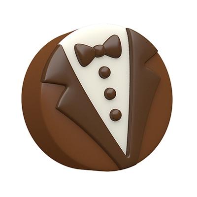 Spinningleaf Bride Groom Sandwich Cookie Molds Chocolate