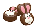Easter Bunny Oreo Cookie Chocolate Mold