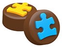 Autism Awareness Oreo Cookie Chocolate Mold