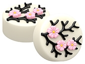 Japanese Cherry Blossom Oreo Cookie Chocolate Mold