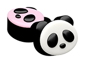 Panda Mini Cookie Mold