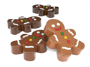 Mini Gingerbread Man Oreo Cookie Chocolate Mold