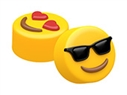 Mini Sunglasses & Heart Eyes Emoji Cookie Mold