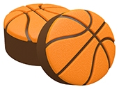 Basketball Soap Mold