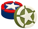 Military Star Soap Mold