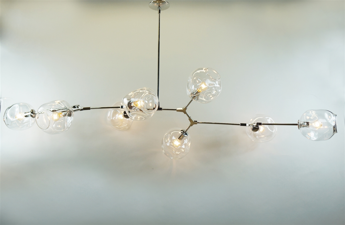 Branching Bubble Modern Chandelier