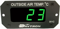 Davtron 301C OAT Digital Aircraft Gauge
