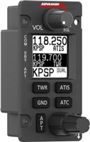 Advanced Flight Systems AFS Comm Radio Tune Frequencies to Connect to any of the AF-5000 Series