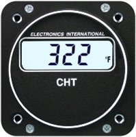 Electronics International C-1 CHT Aircraft Gauges