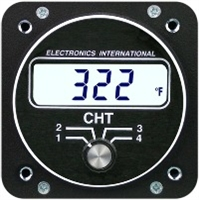 Electronics International C-4 CHT Gauge