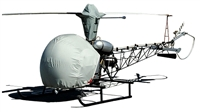 Bell 47 Helicopter Protection Covers, Reflectors and Plugs